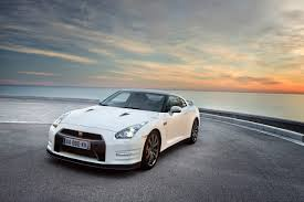 white nissan 2012 the great performance of nissan gtr frontart com