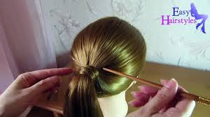 very easy hairstyle with stick video dailymotion