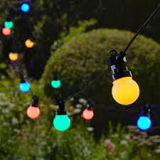 Esszimmerst Le Bunt Led Lichterkette Bunt 20 Leds Leds Mit 30 000 Stunden