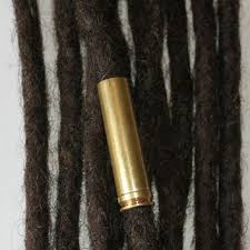 dreadlock accessories xl brass bullet casing dreadlock bead from dreadscapes on etsy