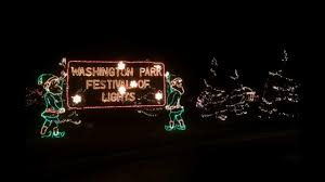 christmas lights in michigan washington park festival of lights visit michigan city laporte