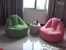 decorating cozy pink bean bag chair for elegant family room design