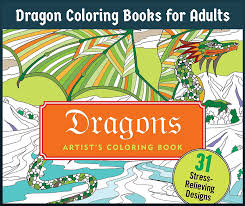 dragon coloring books adults 1 jpg