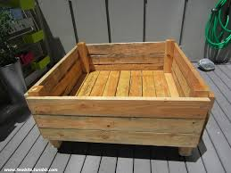 easy raised garden bed on casters for patio or deck 11 steps