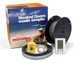 25 square foot suntouch warmwire 3 0 kit with touch screen