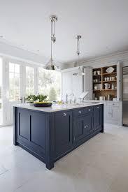 Luxury Traditional Kitchens - luxury blue painted kitchen traditional kitchen manchester
