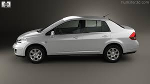 nissan tiida black 360 view of nissan tiida c11 sedan 2012 3d model hum3d store