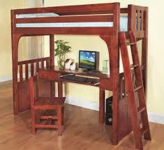wooden loft bed with desk ideas u2013 home improvement 2017