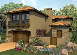 narrow spanish house plans house design plans