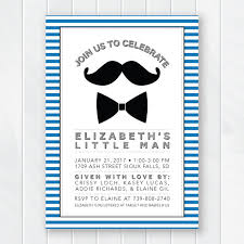 baby shower mustache mustache and bow tie baby shower invitations wally designs