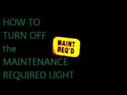reset maintenance light honda accord how to turn off maintenance required light on honda accord reset