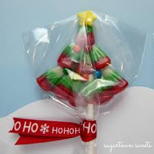 sugartown sweets candy corn christmas tree pops