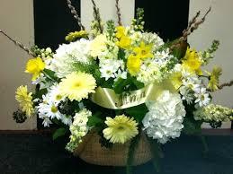 white flower arrangements yellow and white flower arrangements eatatjacknjills