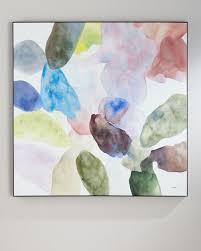 john richard collection teng fei u0027s color wash oil painting