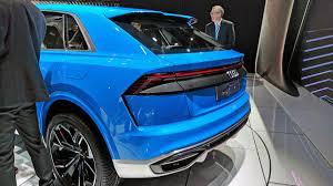 audi detroit audi q8 suv concept at the 2017 detroit auto