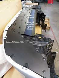 nissan 350z bolt pattern 350z nismo v3 bumper aluminum front extension panel