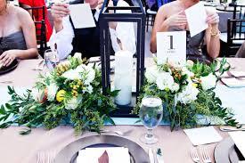 lantern centerpiece greenery and lantern centerpiece elizabeth designs the