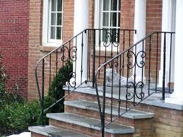 Patio Handrails by Wrought Iron Patio Railing U2013 Hungphattea Com