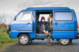 suzuki every van just bought the worlds tiniest camper van to help explore some of