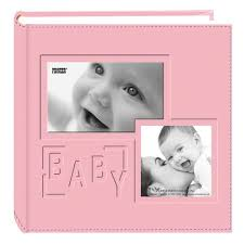 baby photo albums pioneer photo albums pink baby collage frame cover photo album