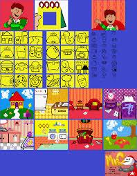 game boy gbc blue u0027s clues blue u0027s alphabet book handy dandy