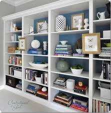 Ikea Billy Bookshelves by Den Project Built In Billy Bookcase Ideas Southern Hospitality