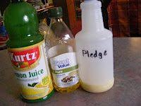 Homemade Wood Polish Cleaner 1 by Make Your Own Furniture Polish 1 4 Cup Vinegar 2 Tsp Olive Oil 1
