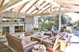 download covered patio fireplace garden design