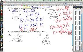 sphere volume worksheet worksheets