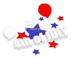 celebration 4th of july vector theme design royalty free stock