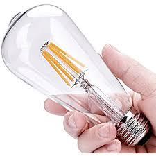leadleds vintage edison bulb e27 medium base led filament bulb