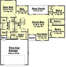 baby nursery 3 bedroom rambler floor plans floor plans for ranch