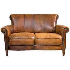 Distressed Chesterfield Sofa Distressed Leather Sofa Be Equipped Soft Leather Sofa Be Equipped