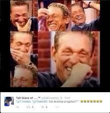 Chions League Memes - top tweets memes mocking arsenal s chions league elimination