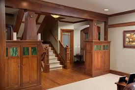 Wooden Banister Columbus Tall Room Dividers Staircase Craftsman With Wood Banister