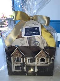thank you baskets realtor thank you basket with gourmet cookies