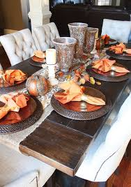 Dining Room Table Arrangements Best 25 Fall Dining Table Ideas On Pinterest Autumn Decorations