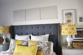 Headboard Covers Bedroom Mesmerizing Design Ideas Using Rectangular Blue Stripes