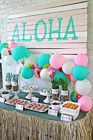 luau birthday party karas party ideas hawaiian luau birthday party via karas party