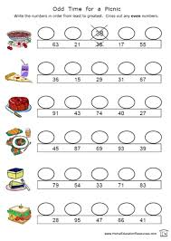 odd and even worksheets u2013 home education resources