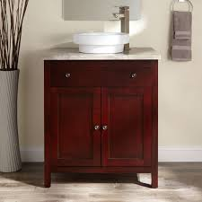 Bathroom Vanities Maryland Classic Wooden Bathroom Vanity In Cherry Glazed With Square Legs
