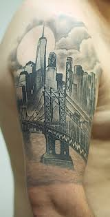 tattoo pictures of new york new york half sleeve tattoo