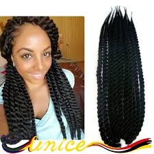box braids hairstyle human hair or synthtic african braids hairstyles 18 crochet havana mambo twist synthetic