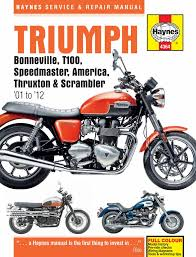 haynes repair manual for modern triumph motorcycles british legends