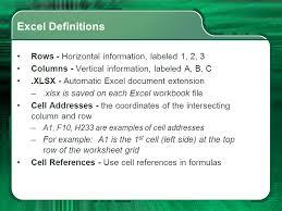spreadsheet basics computer technology ppt video online download