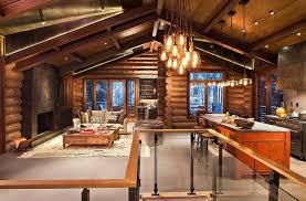 Mountain Home Interior Design Cabin Interior Design Home Design Ideas
