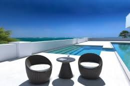 Outdoor Balcony Set by Contemporary U0026 Modern Outdoor Furniture Stores