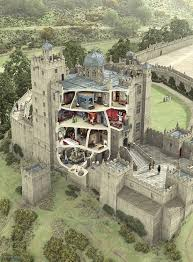 bolsover castle cross section bolsover castle is a castle in