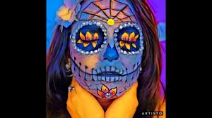 Sugar Skull Halloween Makeup Tutorial by Halloween Makeup Tutorial La Catrina Sugar Skull Day Of The