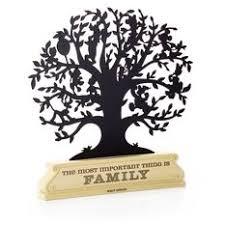 disney family tree silhouette decorative accessories hallmark